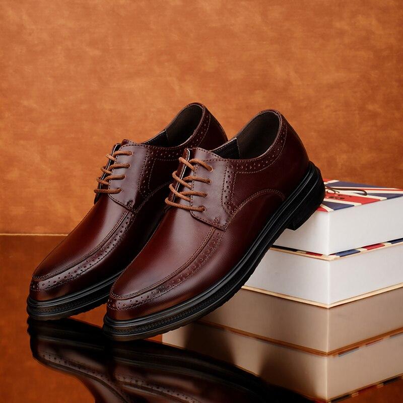 ¡Producto en oferta! zapatos planos de ocio para hombre, zapatos informales de cuero para hombre, mocasines de primavera para hombre, zapatos de moda para hombre