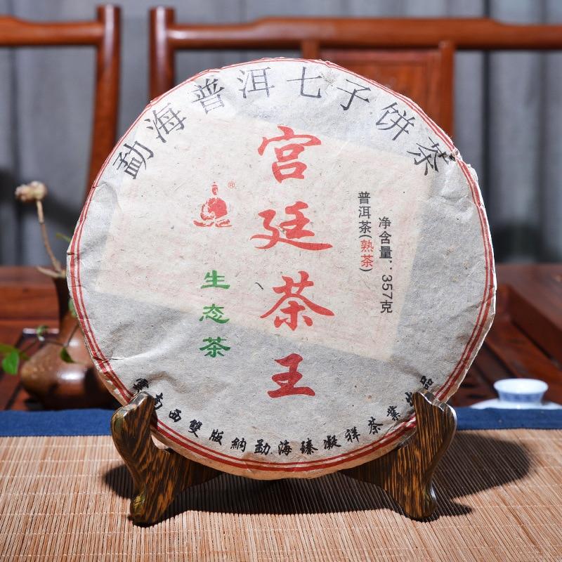 جودة عالية 2009 سنة الصينية يوننان القديمة الناضجة شاي صيني الرعاية الصحية بوير الشاي الطوب لفقدان الوزن الشاي