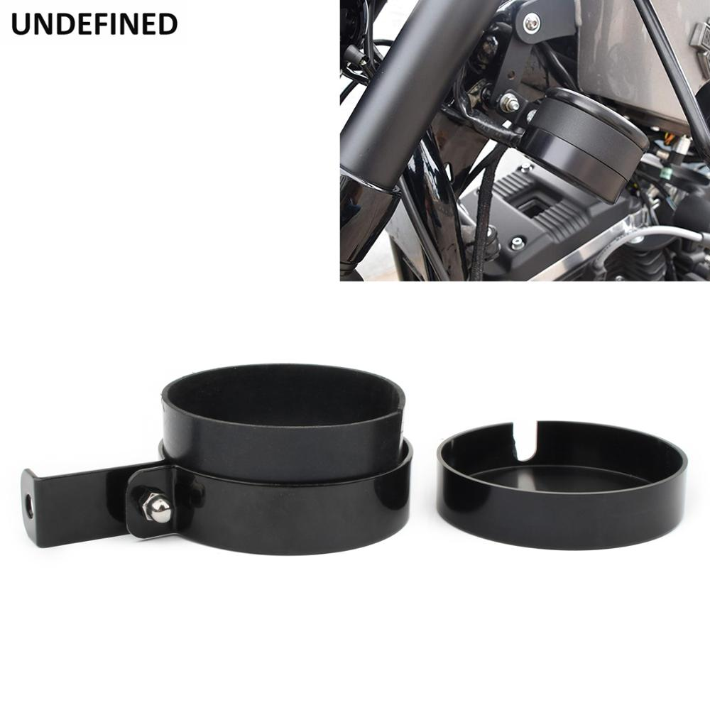 مجموعة عداد السرعة على جانب الدراجة النارية ، غطاء مقياس نقل السرعة لـ Harley Sportster XL883 1200 Iron 883 48 72-Two