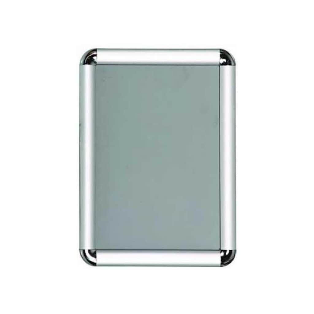 Обратите внимание на алюминиевую раму, подходящую для формата А4, качественную рамку для офиса, полезный продукт