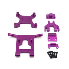Metal Upgrade Fittings Front Guard&Bumper for 1/12 Wltoys 124018 1/14 Wltoys 144001 RC Car Upgrade P