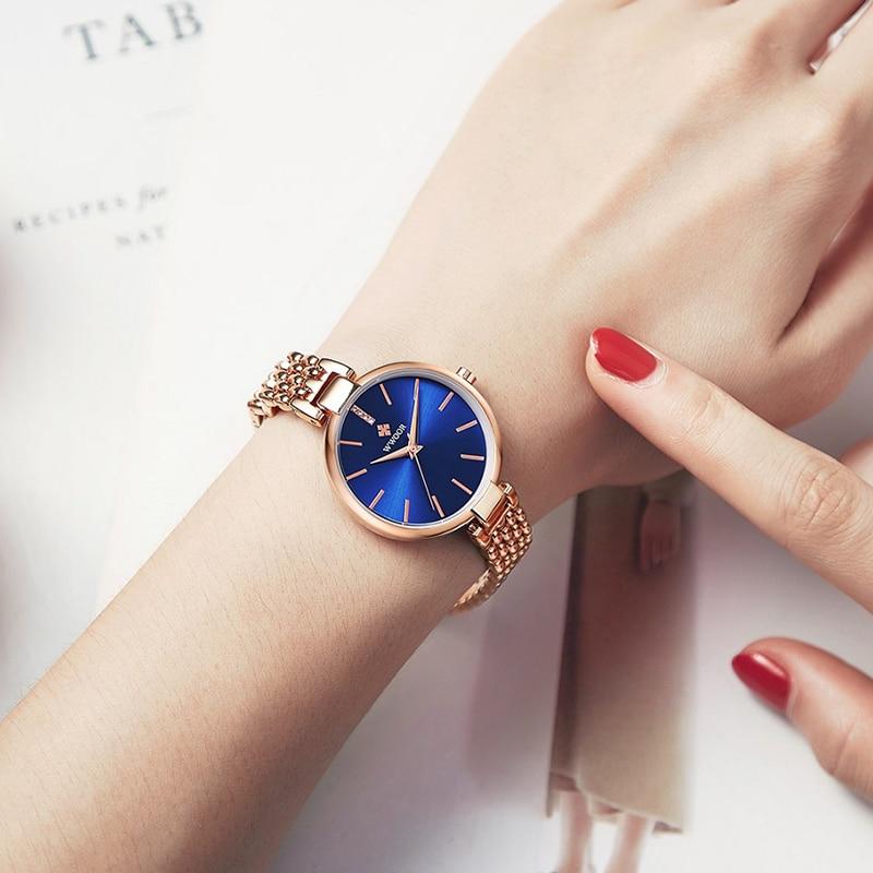 WWOOR Elegant Ladies Watch Diamond Quartz Bracelet Watches Set Top Brand Luxury Female Dress Wrist Watch Clock Relogio Feminino enlarge