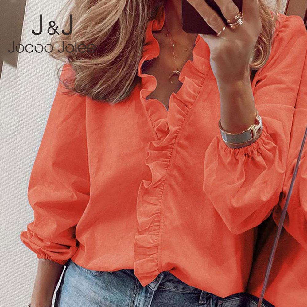 Elegant Boho Floral Print Slim Shirt Office Lady Retro Tops Women Casual Short Sleeve Sexy V-neck Ruffles Blouse 2020 Summer