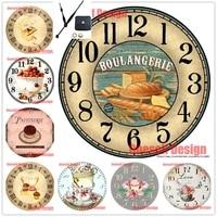 Broderie de diamant 5d avec horloge  autocollant mural doux et populaire  vente de mosaique en strass  images  decoration de maison