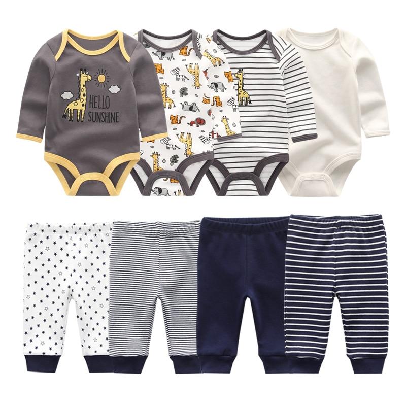 2021 хлопок для маленьких девочек одежда боди + комплект штанов для ребёнка, Одежда для младенцев комплект одежды для новорожденных осень зима; Одежда для маленьких мальчиков; Roupa de bebe|Комплекты одежды| | АлиЭкспресс