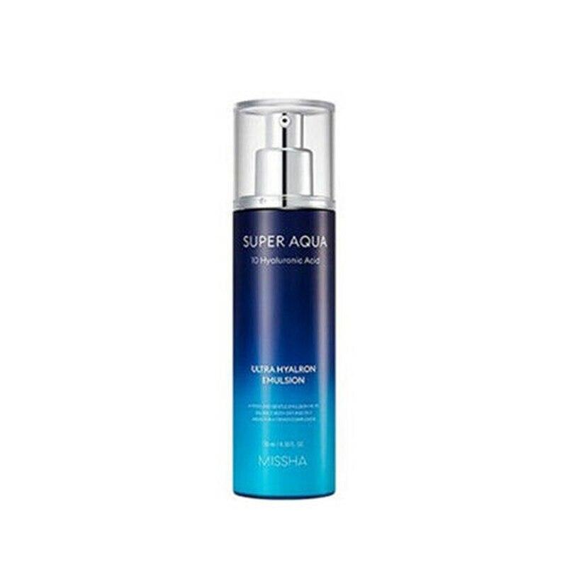 MISSHA Super Aqua Ultra hialron emulsión 130ml crema de ácido hialurónico hidratante cara suero blanqueamiento reafirmante cosméticos de Corea