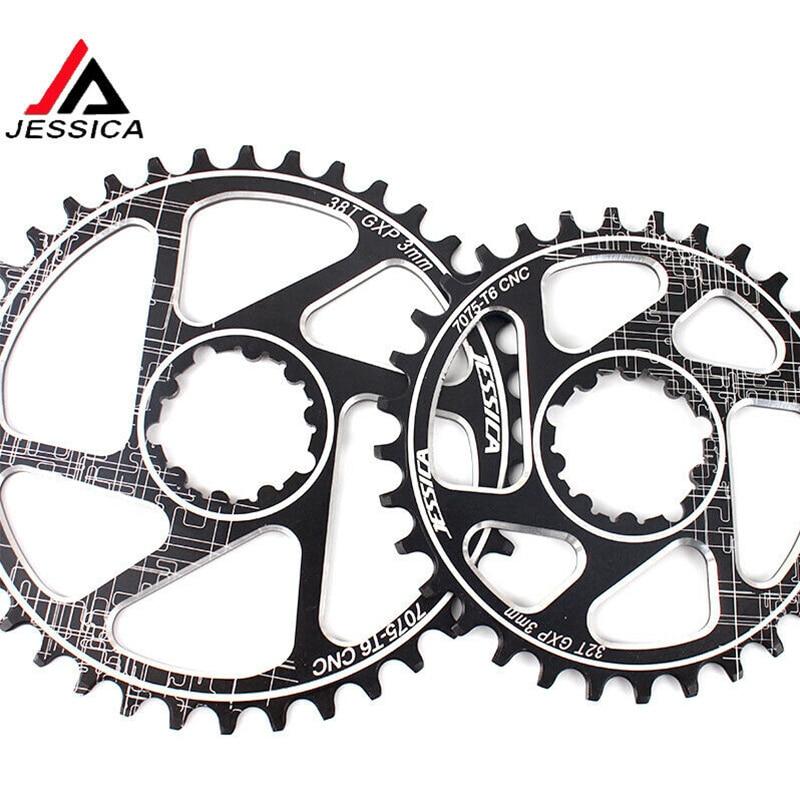 GXP MTB Chainring Offset 3mm cigüeñal ancho estrecho 32T 34T 36 38T Cadena de montaña engranaje fijo ajuste XX1 X9 XO X01 BB30 manivela de bicicleta