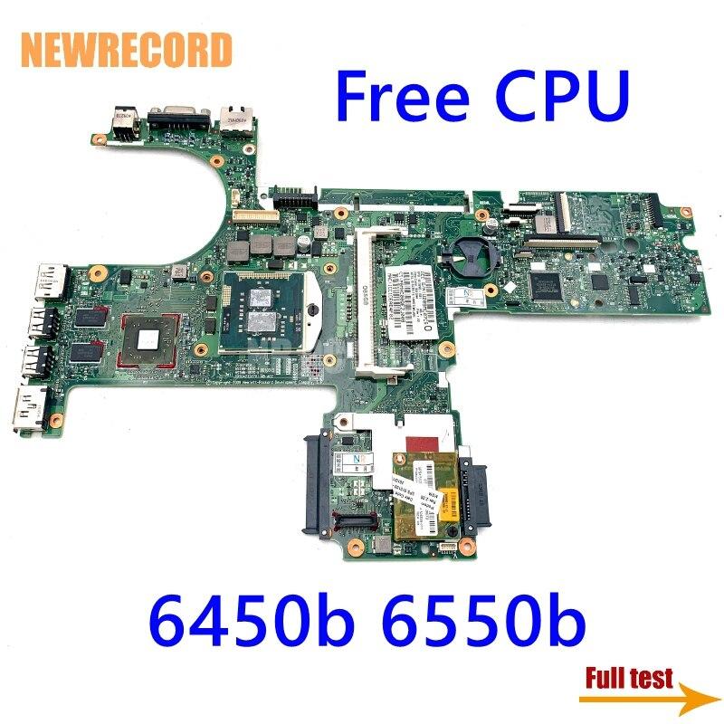 لوحة رئيسية للحاسوب المحمول HP ProBook 6450b 6550b 613296-001 لوحة رئيسية HM57 HD 5430 مجربة بالكامل