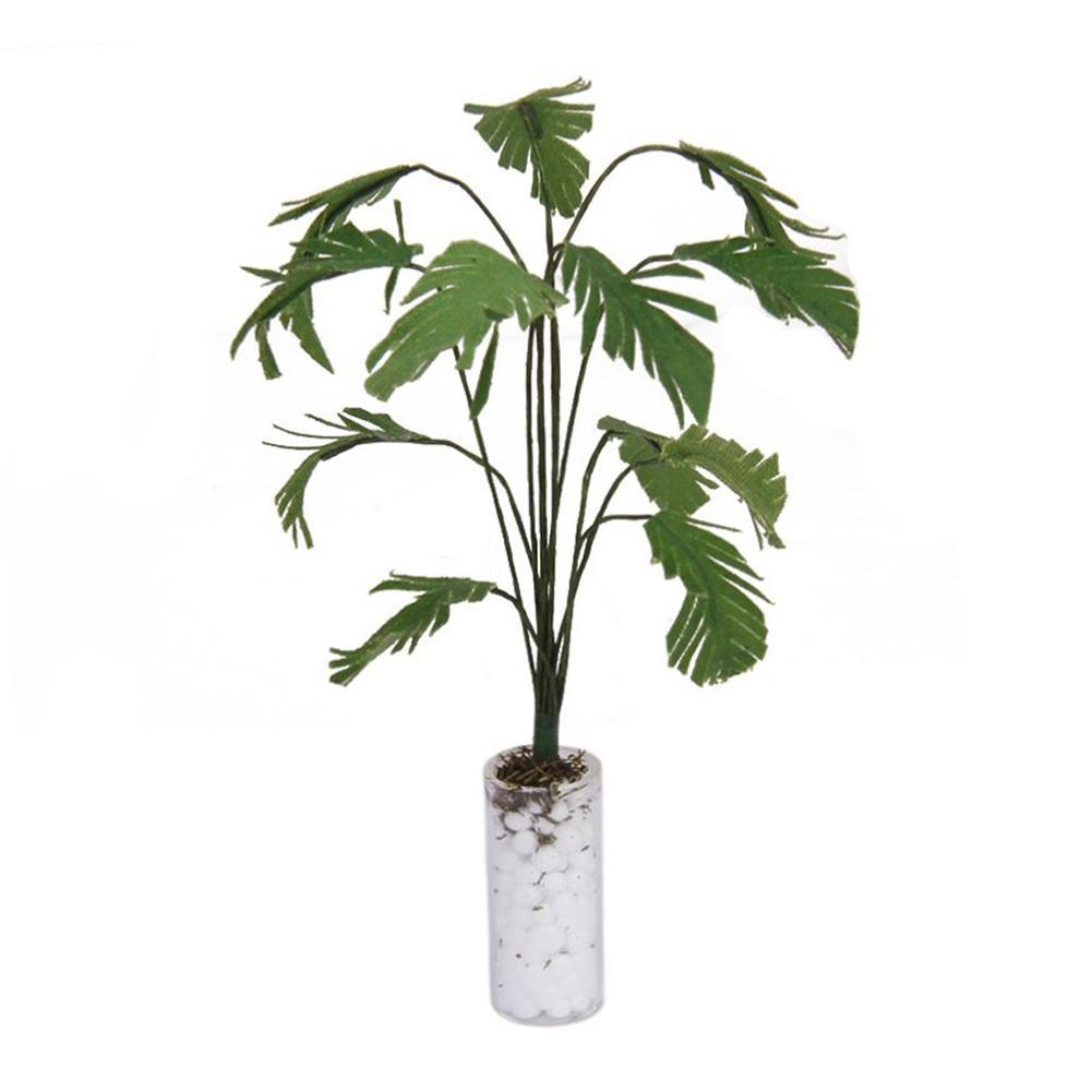 1:12 Dollhouse Miniature Greenery Banana Tree Doll House Garden Plant Decor Ornament For Home Decor Accessories Wedding Decor