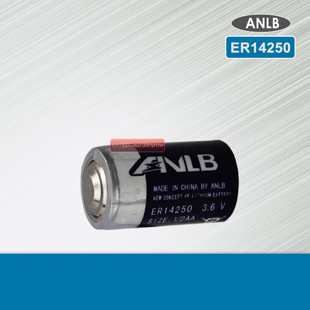 1pcs/lot New Original ANLB ER14250 1/2AA 3.6V 1200mAh Lithium Battery PLC Batteries