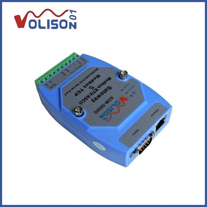 VOLISON 01 بوابة خادم إيثرنت-ميناء دعم MODBUS مع 422/232 الصاري الصناعية