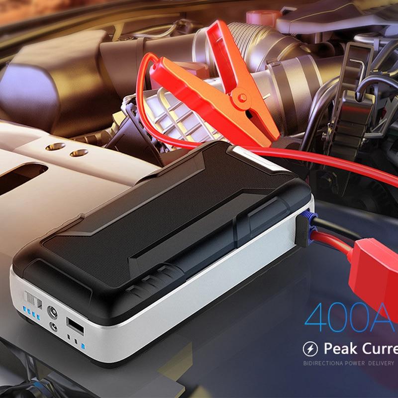 18000mAh قوة البنك ل كمبيوتر لوحي (تابلت) وهاتف ذكي محمول سيارة بطارية بدء التشغيل سيارة كاتب السيارات المغفل سيارة الطوارئ الداعم البطارية