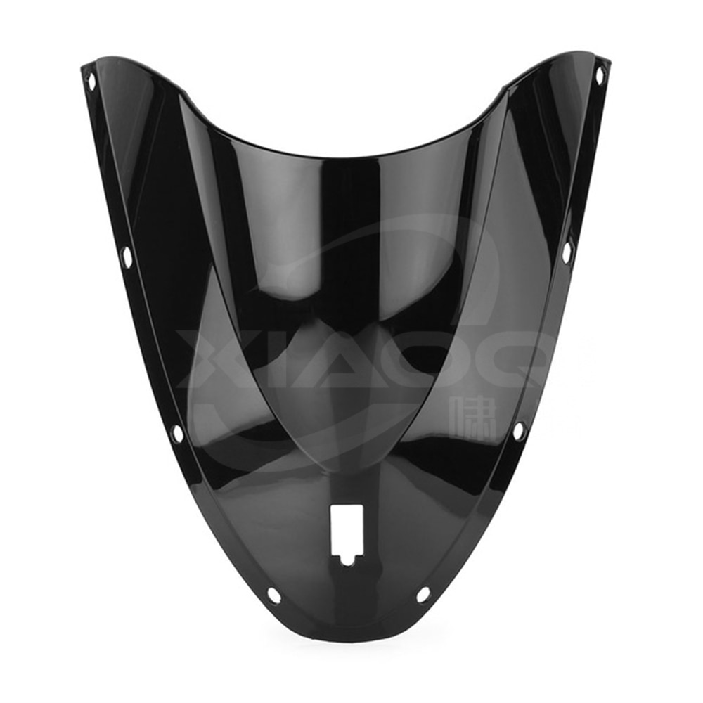 Para ducati 749 999 2005 2006 pára-brisa da motocicleta dupla bolha windscreen defletores preto branco moto