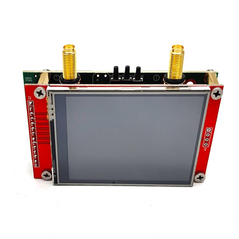 الجيل الثالث 3G ناقلات شبكة محلل S-A-A-2 NanoVNA V2 50KHz-3GHz هوائي محلل على المدى القصير HF VHF UHF تحليل 2.8 بوصة TFT شاشة الكريستال السائل