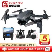 FIJ SG907 Pro 5G WIFI GPS Drone 4K grand Angle cardan Zoom contrôle FPV réglage double caméra pliable quadrirotor Drone