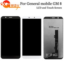 Черный/белый для общего мобильного GM 8 GM8 ЖК-дисплей и инструмент для ремонта сенсорного экрана в сборе Запчасти для GM 8 LCD с инструментами + клей