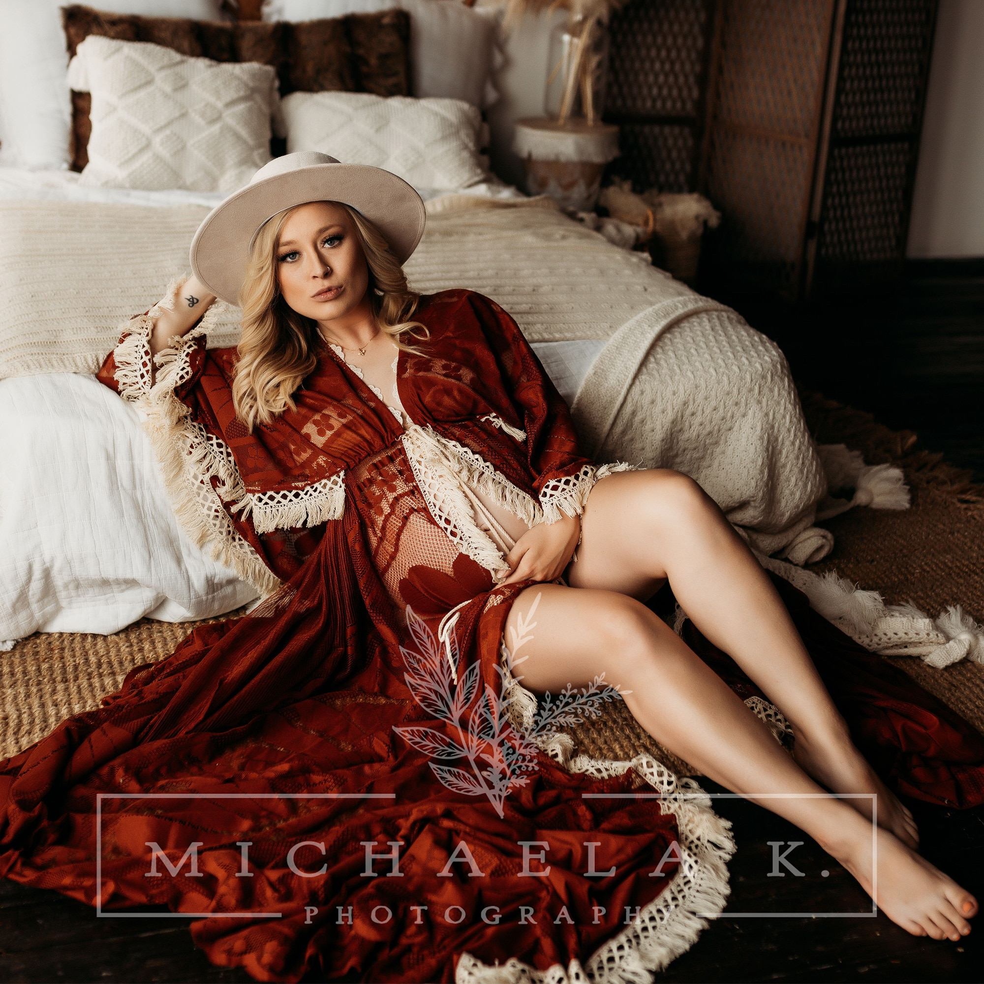 Maxi Long Boho Lace Photo Shoot Gown Pregnant Robe Maternity Dress Evening Party Costume for Women Photography Accessories