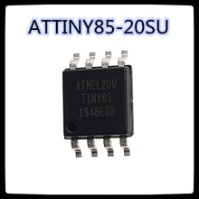 (5 pièces-10 pièces) ATTINY85-20SU SOP-8 ATTINY85 SOP8 NY85-20 microcontrôleur 8 bits nouveau et original
