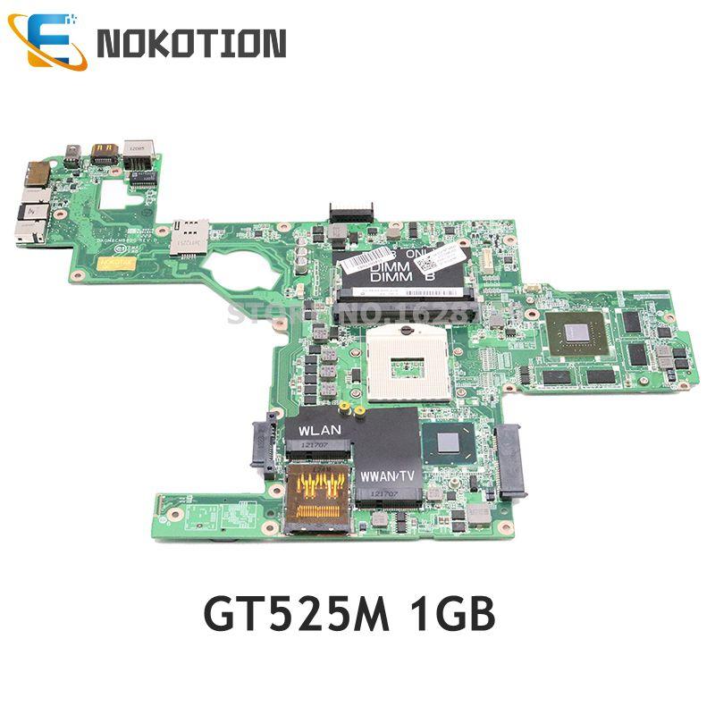 NOKOTION DAGM6CMB8D0 CN-0C47NF 0C47NF اللوحة الرئيسية لديل XPS 15 L502X اللوحة المحمول HM67 DDR3 GT525M 1GB اختبار كامل