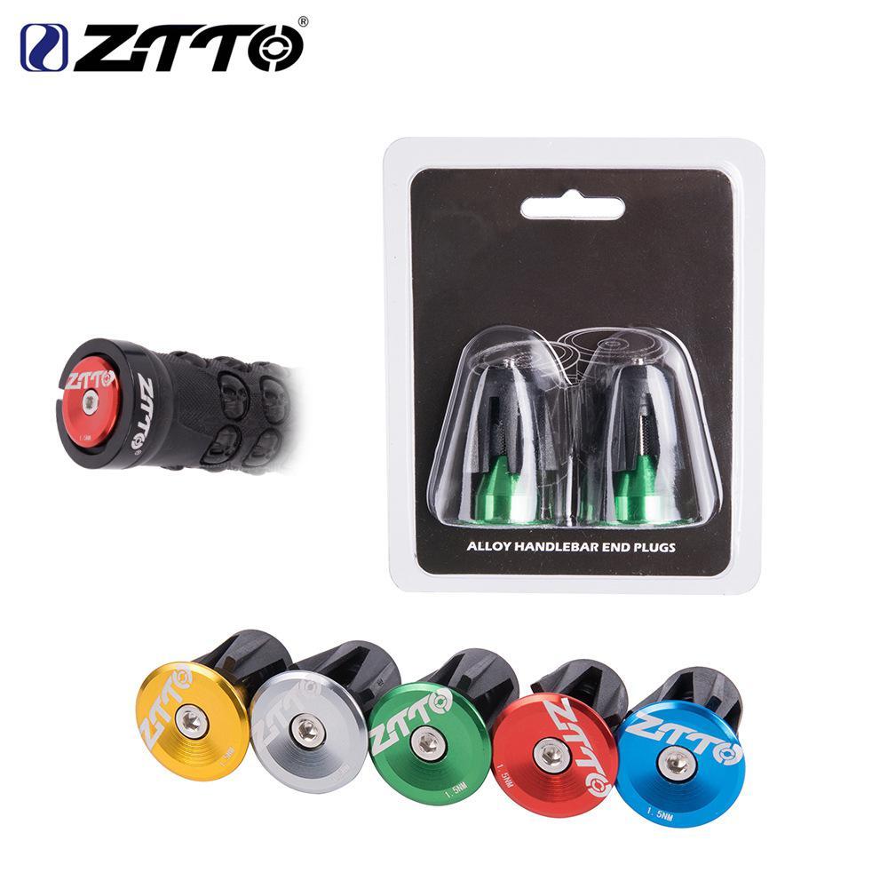 ZTTO-enchufe para manillar de bicicleta, de aleación de aluminio, CNC, con tapón de manillar, 24MM