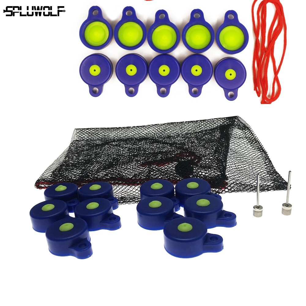 20 PCS DIY Blast Replacement Archery Shooting Target Caps Airsoft High Pressure Target Hunting Bottles Accessories