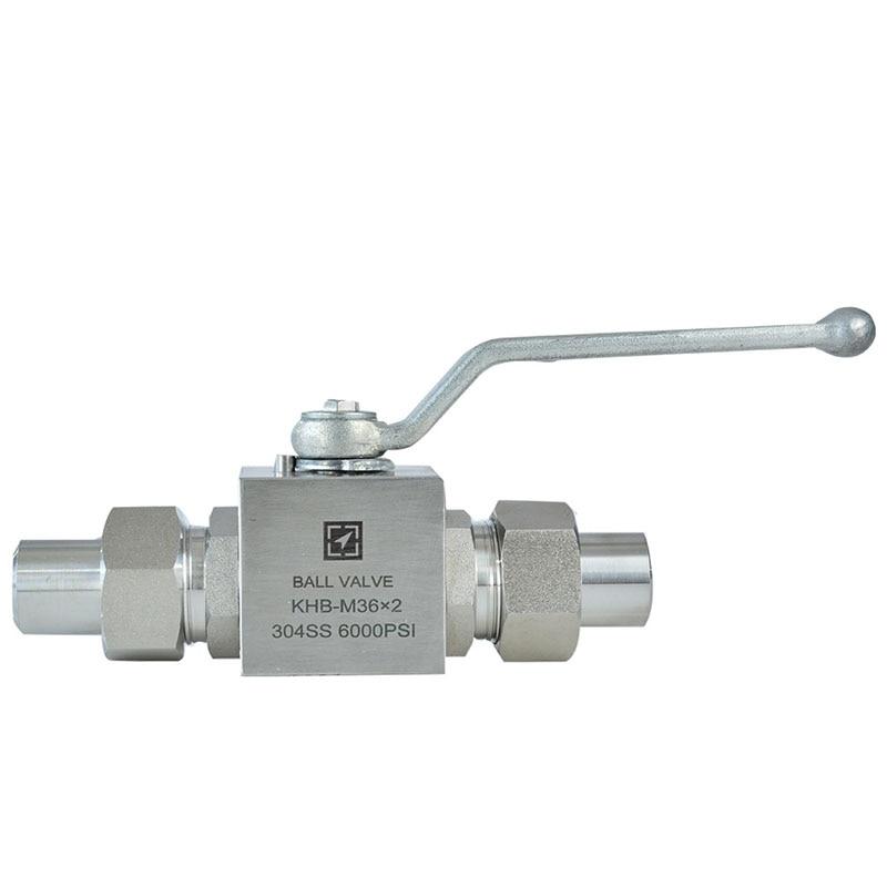 DN6-25 الفولاذ المقاوم للصدأ ملحومة صيغة الكرة صمام مزدوج الخارجي سلك ملحومة كم عالية صمام أمان ضغط متوسط صمام KHB-M