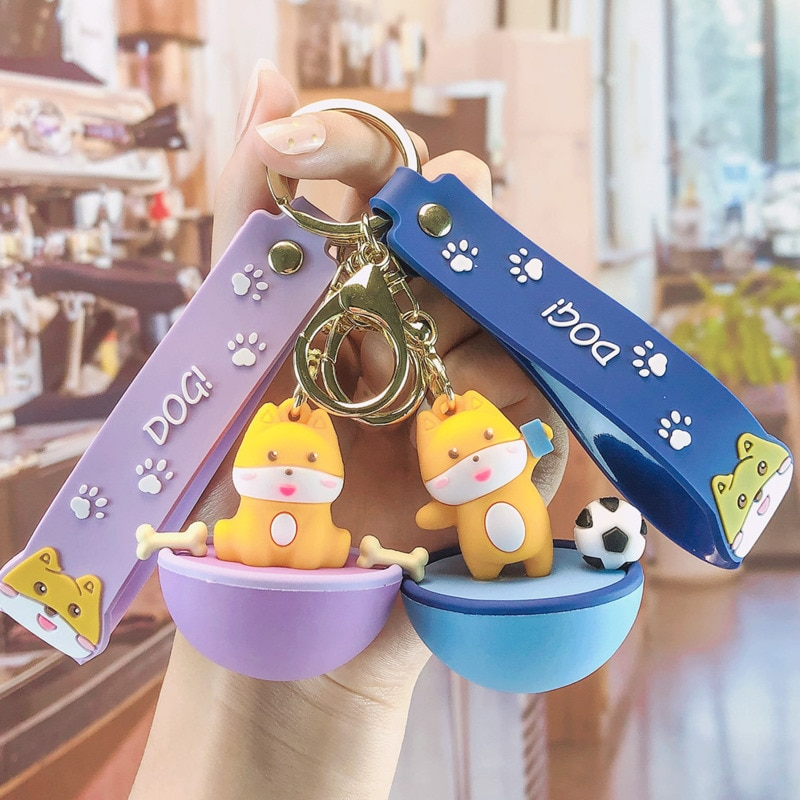 Брелок для ключей автомобиля «Сиба-ину»