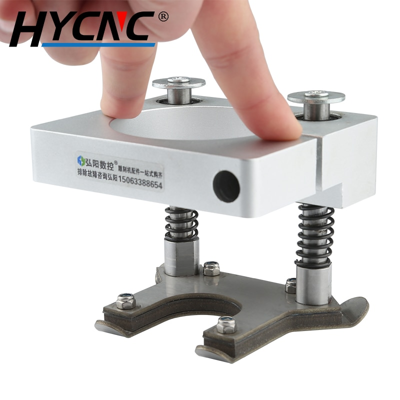 Wood Carving Spindle Automatic Pressing Plate 65mm 80mm 90mm 100mm Floating Presser Foot CNC Computer Acrylic DIY Carving enlarge