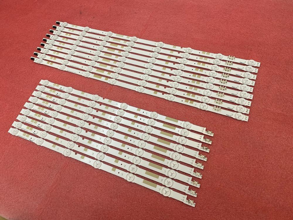 Neue 2set = 36 PCS LED streifen für Samsung UE55JU6870 UE55JU6800 UE55JU6800K V5DR_550SCA 550SCB_R0 BN96-38482A 38481A 38881A 38880A