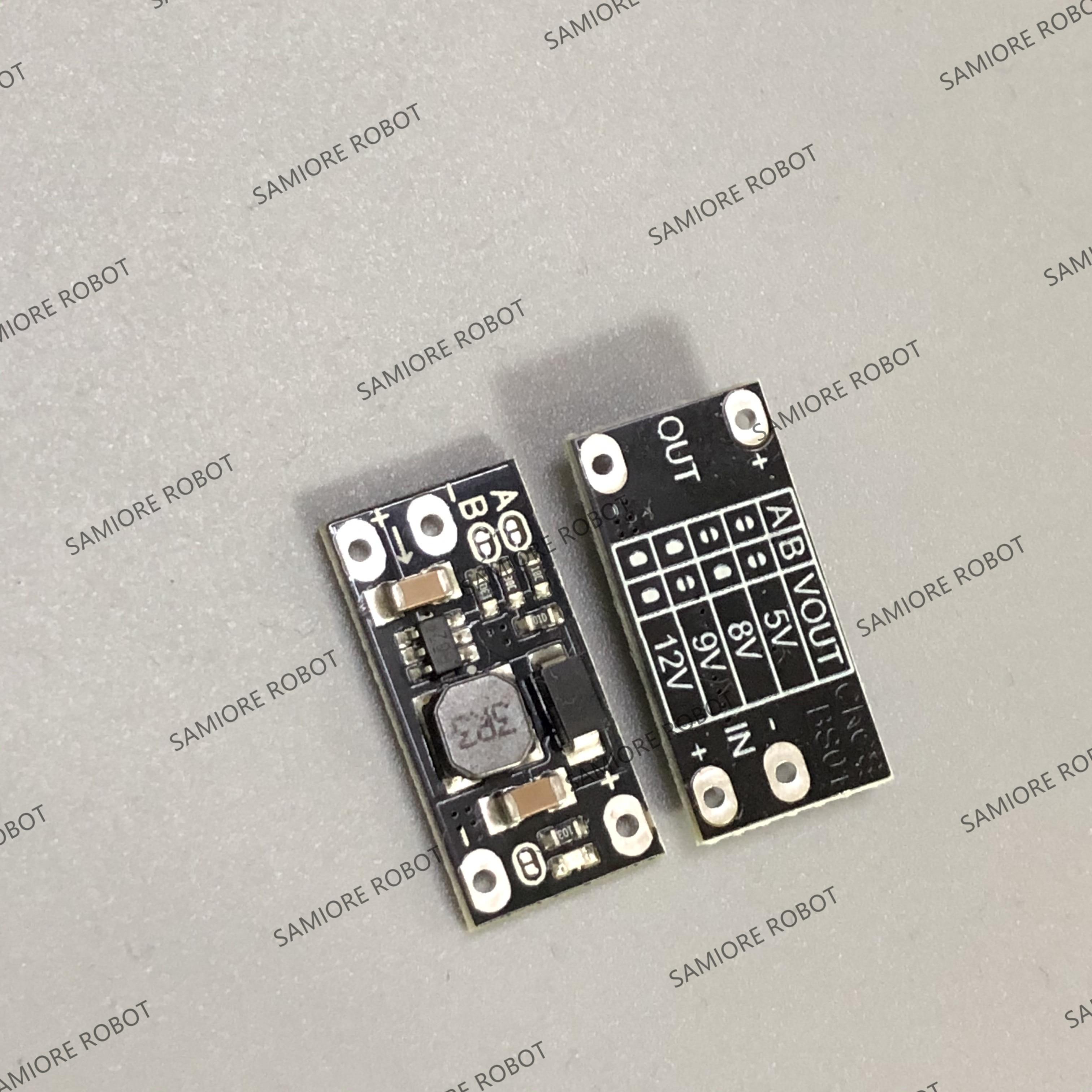 10 pièces plus récent multi-fonction Mini Boost Module étape Up carte 5V/8V/9V/12V 1.5A indicateur LED bricolage Module de tension électronique