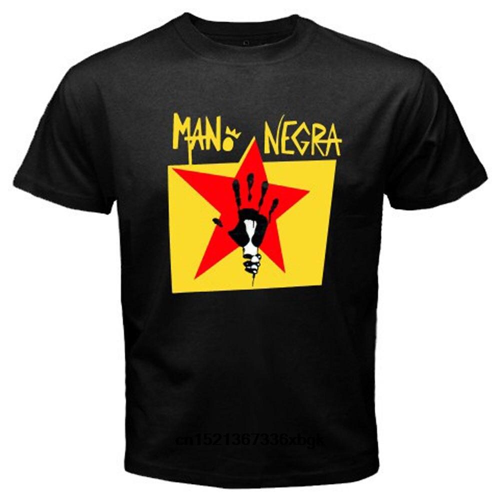 Nueva Mano Negra Manu Chao Rock Band Negra Camiseta talla S M L XL 2XL alta calidad camiseta