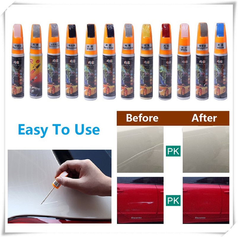Car Scratch Repair Pen Coat Paint Clear Repair Remover for Fiat Punto Palio Uno Idea Bravo Sedici Grande Tipo Qubo Panda Mobi