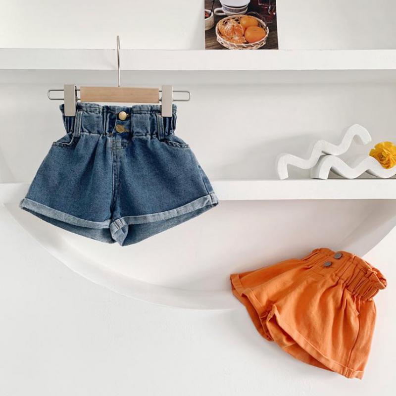 2020 verão novas meninas shorts roupas das crianças do bebê jeans crianças meninas denim shorts fino solto casual esportes calças de brim