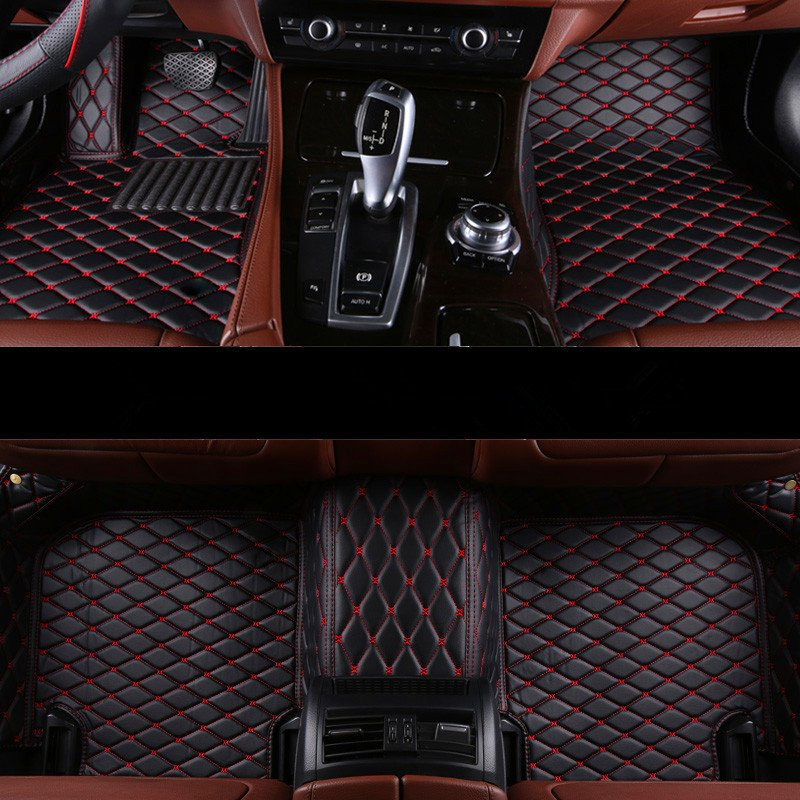 Custom special car floor mats for Toyota Highlander 7 seats 2013-2007 durable car carpets for Highlander 2010