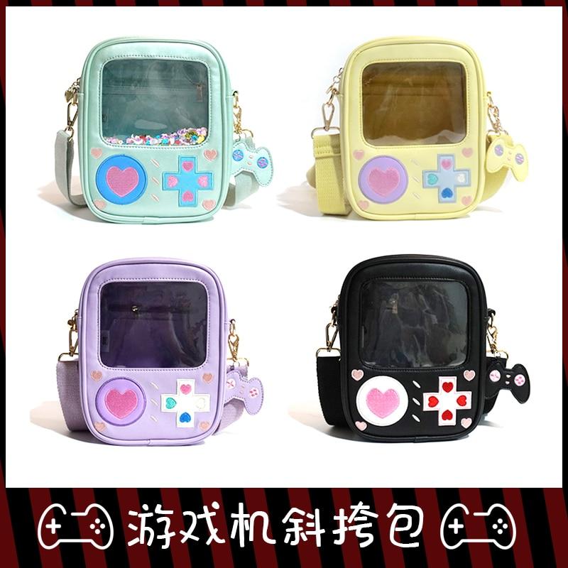 لطيف لعبة آلة لوليتا Itabag شفافة 15 سنتيمتر 20 سنتيمتر دمى حقيبة يد حقيبة كتف تأثيري Harajuku فتاة موحدة حقيبة ساع Cu
