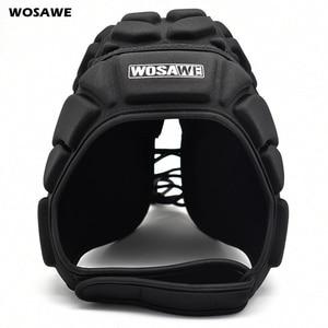 WOSAWE утепленный шлем хозяаря из ЭВА, регулируемый дышащий протектор головы для футбола, скейтборда