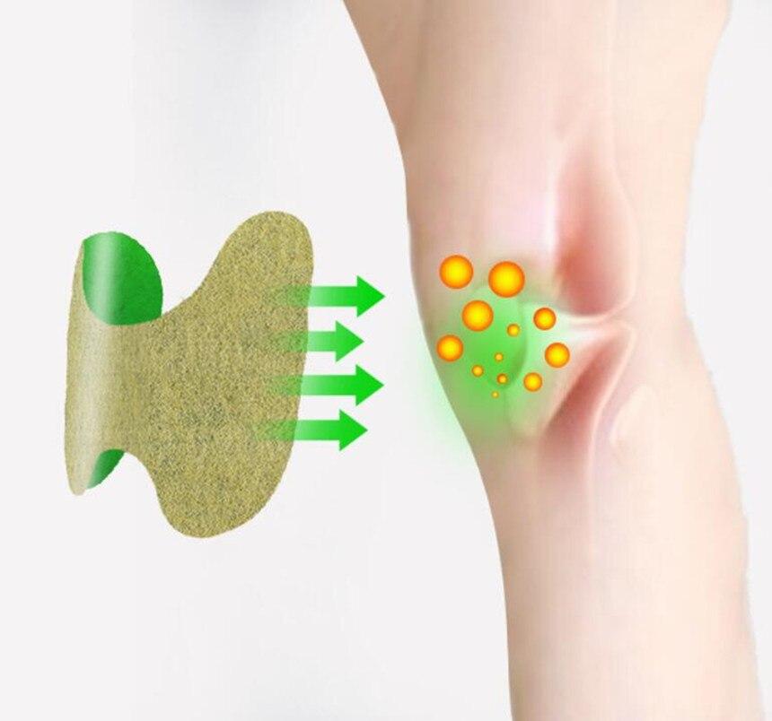12 шт. с заплатками на коленях на артрита боли в суставах заплата сброса в китайском стиле из трав, медицинская Стикеры тело колено мышцы здравоохранения
