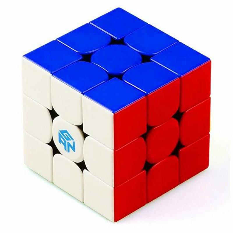 cubespeed gan 3x3 stickerels magia neo cubo velocidade puzle versao gan 356r cubo