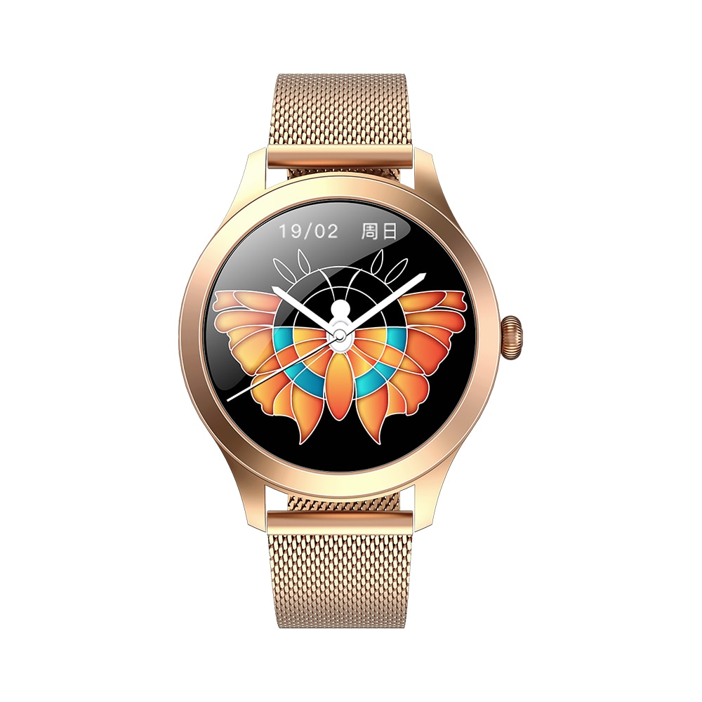 Smart Watch KW10 Pro Full Touch Screen IP68 Waterproof Women Physiological Sycle Reminder Smartwatch