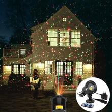 Extérieur jardin pelouse scène effet lumière étanche fée ciel étoile Laser projecteur lumière de noël fête décorative paysage lampe