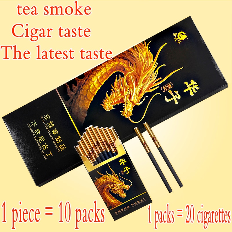 Mint Momordica grosvenori herb cigarettes cleaning lung tea smoke to quit smoking no nicotine & tobacco cigarettes tea the herbal smoke(tobacco free cigarette taste good to quit smoking 100% nicotine free free shipping