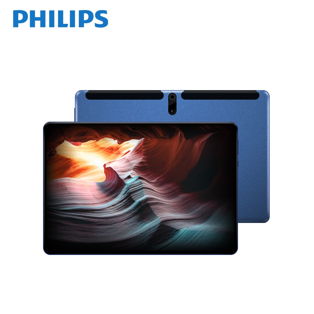 PHILIPS Original 10.1inch PC Tablet 1920*1200 FHD Dual cameras 128G Bluetooth Tablets  Android 9.0