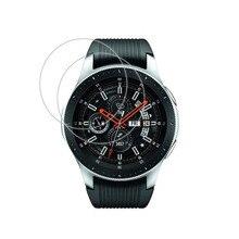 2 х прозрачная защитная пленка из закаленного стекла для смарт часов Samsung Galaxy Watch 42 мм 46 мм