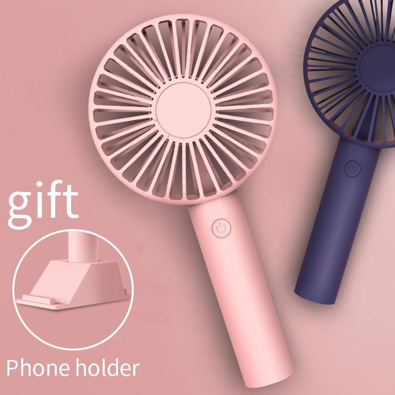 mini Fan Portable for Fan Handheld USB rechargeable fan Appliances Desktop Air Cooler Outdoor Travel