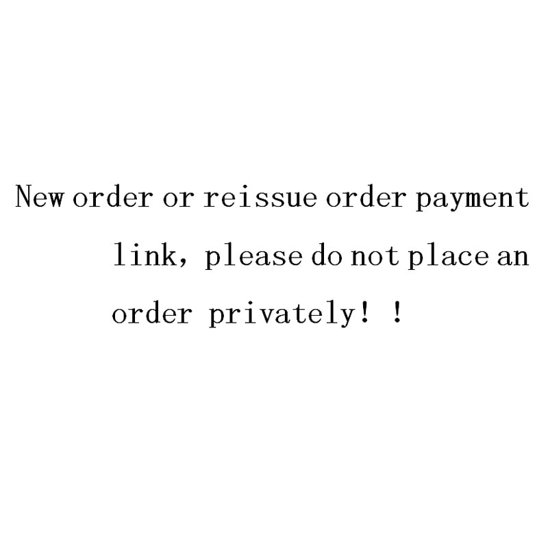 Please do not place an order. The reissue link needs to be negotiated with the buyer before placing the order недорого