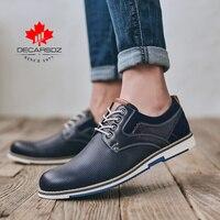 2021 Spring & Autumn Men Brogue Leather Lace up Shoes Men Casual Shoes Fashion Comfy Walking Footwear European style Men Shoes