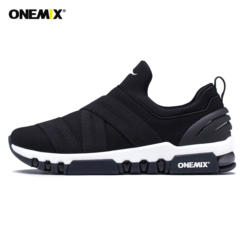 Onemix, zapatos de malla deportivos para hombre, zapatillas deslizantes, zapatos para caminar al aire libre informales, zapatos para correr Air 270, zapatos para mujer