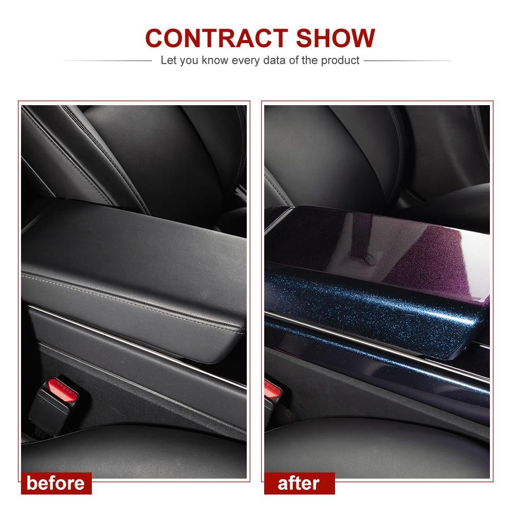 vxvb For Tesla Model 3 Accessories 2020 Model3 Tesla model y model three New starry sky armrest box cover Accessory Interior enlarge