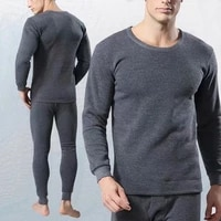 wenyujh mens thermal underwear sets winter warm mens underwear women thick thermal underwear 2pcs set warm long johns for male
