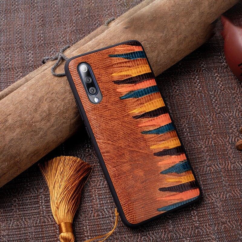 De piel de vaca de funda de teléfono para Xiaomi 10 8 9 9T A2 A3 lite Poco F1 X2 mezclar 2 Max 3 Redmi Nota 9 s 6 6a 7 7a 8 Y3 K20 K30 pintado de Pro, caso
